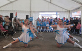 Salut du groupe des grandes bâtons majorettes majo'danse caussade tarn et garonne